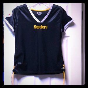 Steelers women's jersey. Large